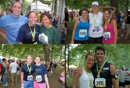 Fresh Air Fund - Marathon 2008