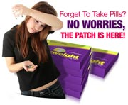 No more missed pills with SlimWeight Patch