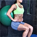 Exercise - Ball Squat
