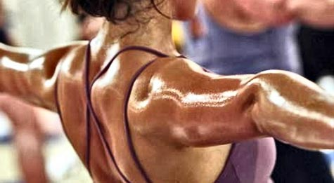 Excessive sweating during exercise